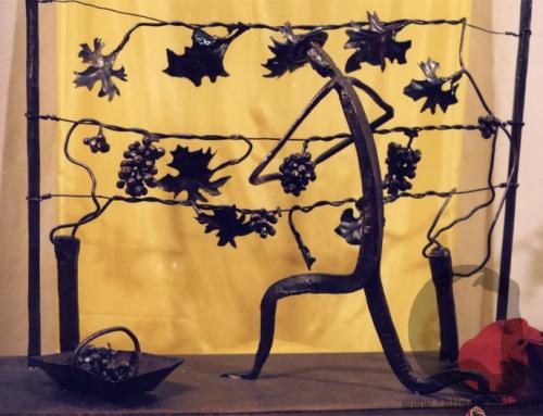 Sculpture vendangeur